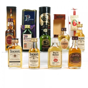 Malt and Blend 1980s Selection 9 x 5cl