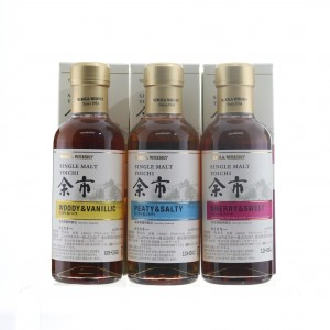 Nikka Distillery Exclusives 3 x 18cl