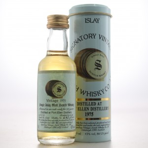 Port Ellen 1975 Signatory Vintage 23 Year Old Miniature 5cl