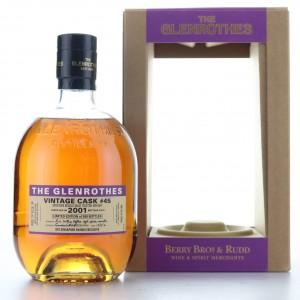 Glenrothes 2001 Single Cask #45 / Singapore Changi Exclusive