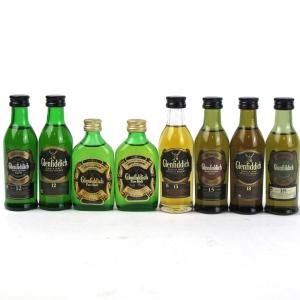 Glenfiddich Miniature Selection 8 x 5cl