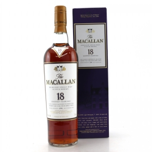 Macallan 1991 18 Year Old 75cl / US Import