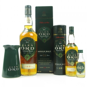 Glen Ord 12 Year Old Selection / Includes Branded Water Jug