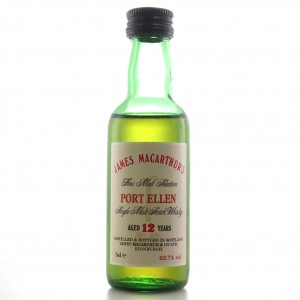 Port Ellen 12 Year Old James Macarthur Miniature 5cl