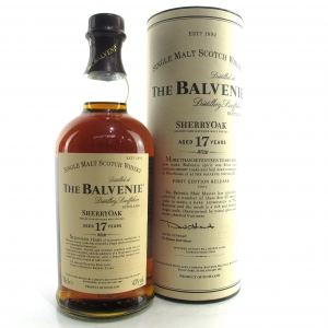 Balvenie 17 Year Old Sherry Oak / First Release 2007