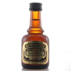 Bowmore 12 Year Old Miniature 5cl 1980s