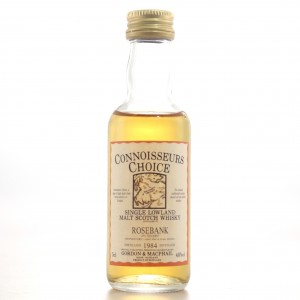 Rosebank 1984 Gordon and MacPhail Miniature 5cl