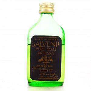 Balvenie 8 Year Old Pure Malt Miniature 1970s