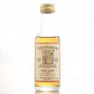 Glen Albyn 1972 Gordon and MacPhail Miniature 5cl