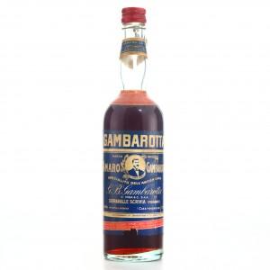 Gambarotta Amaro 50cl 1950s