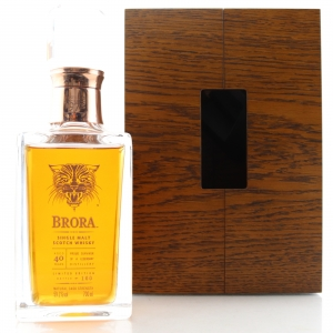 Brora 1972 Cask Strength 40 Year Old