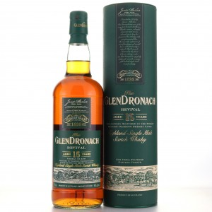 Glendronach 15 Year Old Revival 75cl / Pre-2015 - Canadian Import