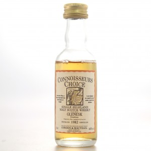 Glenesk 1982 Gordon and MacPhail Miniature 5cl