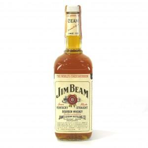 Jim Beam Kentucky Straight Bourbon 1980s