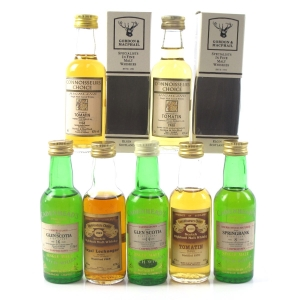 Miscellaneous Highland and Campbeltown Miniature Selection 7 x 5cl