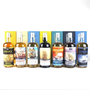 Silver Seal Vintage Rum Selection 7 x 70cl / Rock Not War Project