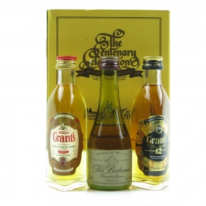 William Grant and Sons Centenary Celebration Gift Pack / 3 x 5cl
