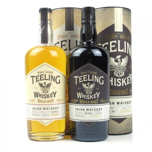 Teeling Whisky Selection Single Malt and Single Grain 2 x 70cl