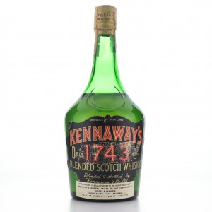 Kennaway's '1743' Scotch Whisky 1960s