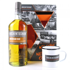 Auchentoshan American Oak / with Tin Mug