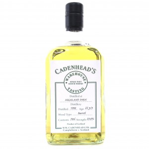 Highland Park 1992 Cadenhead's 25 Year Old / Warehouse Tasting