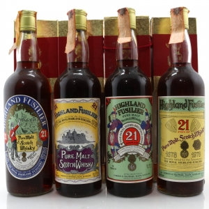 Highland Fusilier 21 Year Old 'Remember Series' 1978 x 4 / Co. Pinerolo Import