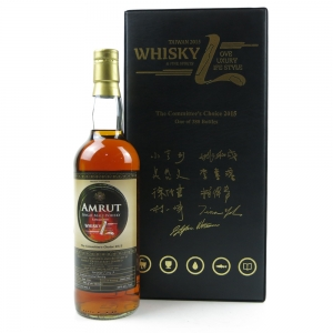 *BACK PIC Amrut 2011 Single Cask #2714A / Committee's Choice 2015