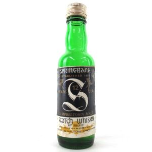 Springbank 12 Year Old Miniature 1970s