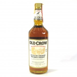 Old Crow Kentucky Straight Bourbon 1980s