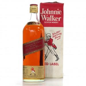 Johnnie Walker Red Label 2.25 Litre 1970s