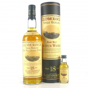 Glenmorangie 18 Year Old / Including Miniature