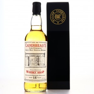 Bowmore 2003 Cadenhead's 15 Year Old / Campbeltown Shop