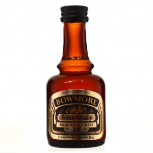 Bowmore 12 Year Old Miniature 1980s