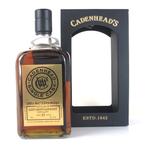 Glen Grant 1984 Cadenhead's 31 Year Old