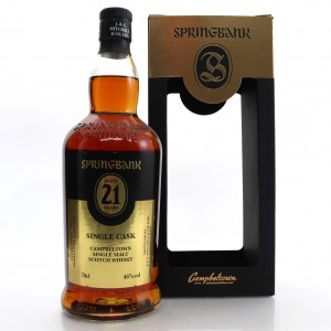 Springbank 1996 Madeira Finish 21 Year Old / Campbeltown Malts Festival 2018