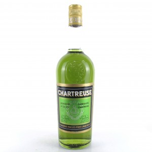 Chartreuse Voiron Green Label 1960s