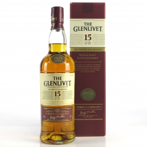 Glenlivet 15 Year Old French Oak Reserve / Japanese Import