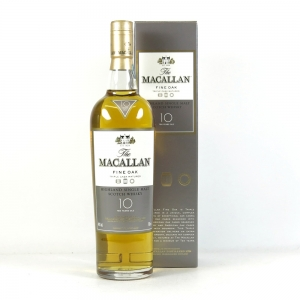 Macallan 10 Year Old Fine Oak Front