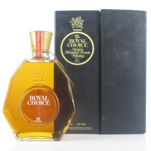 Royal Choice Deluxe 21 Year Old 1980s