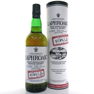 Laphroaig 10 Year Old Cask Strength Batch #001