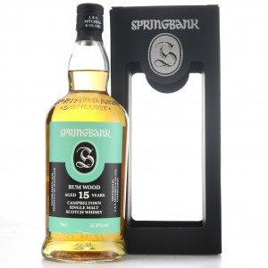 Springbank 2003 Rum Wood 15 Year Old