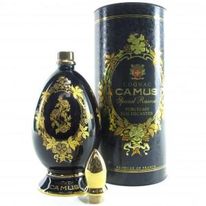 Camus Special Reserve Half Bottle / Porcelain Egg Decanter