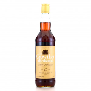 Macallan 1984 Crowther MacDougall 25 Year Old