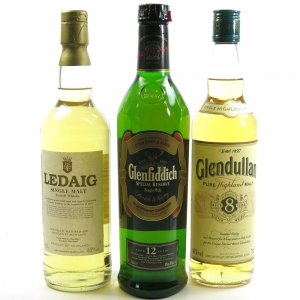 Miscellaneous Single Malt Selection 3 x 70cl