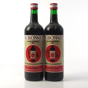 Dubonnet Vinho Apertivo 1 Litre 1970s 2 x 1 Litre