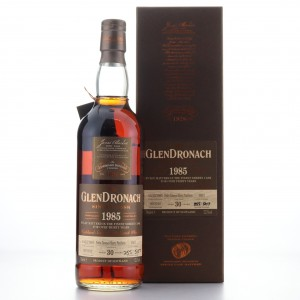 Glendronach 1985 Single PX Cask 30 Year Old #1037