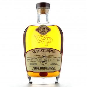 Whistlepig 12 Year Old Single Barrel Rye / The Boss Hog