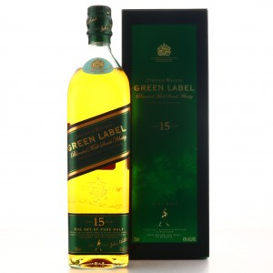 Johnnie Walker Green Label 15 Year Old 75cl / US Import