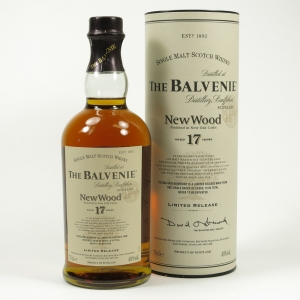 Balvenie 17 Year Old New Wood Front