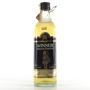 Winner 12 Year Old Special Reserve 1980s